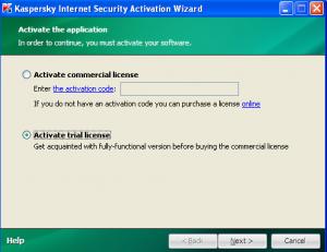 Activate Trial License