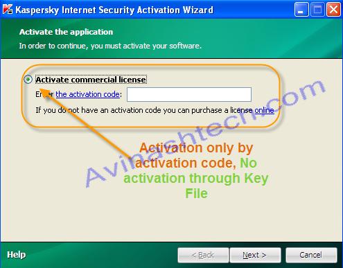 Kaspersky Activation code