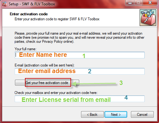 SWF & FLV Toolbox license