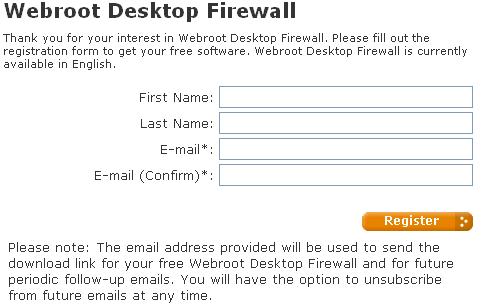 Webroot desktop firewall form