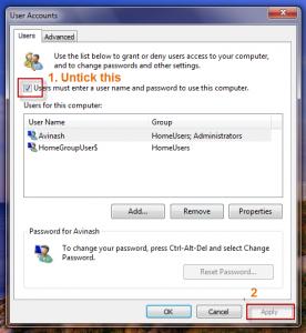 Windows 7 Password auto1