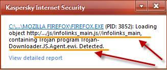 Infolinks got Infected? Kaspersky thinks so 1