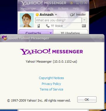 Download Yahoo messenger 10 offline installer from yahoo servers 1