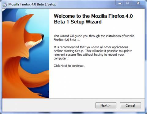 Firefox 4 Beta 1 out: A sneak Preview 1