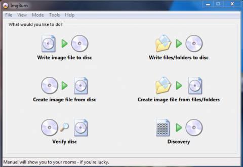 ImgBurn : Best Free CD / DVD Burning Software 1