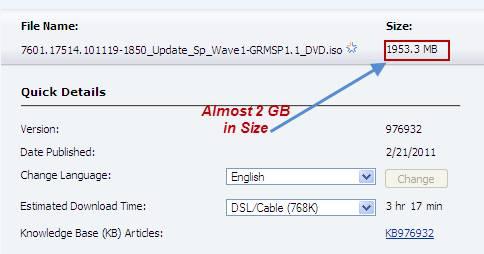 Download Windows 7 SP1, Window Server 2008 R2 Service Pack 1 2
