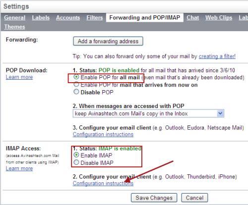 Five (5) ways to backup Gmail account 2
