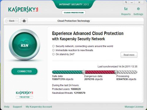Kaspersky Internet security 2012 beta first impressions [91 days license] 5
