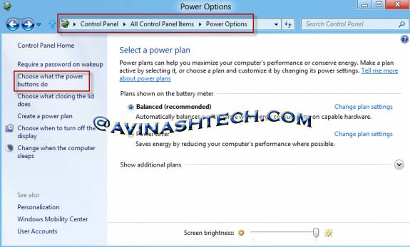 How to enable Hibernate  option in Windows 8 3