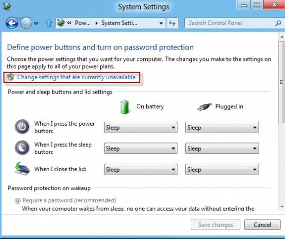 How to enable Hibernate  option in Windows 8 4