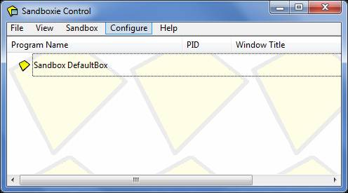 Sandboxie: Install, run Apps in a virtual environment Review