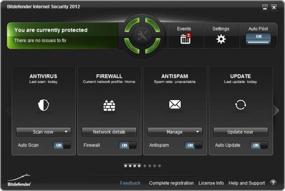 Grab BitDefender Internet Security 2012 license key valid for 1 year 2